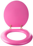 Brand-new toilet seat Stock Photo