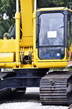 Brand new tracked excavator Royalty Free Stock Photography
