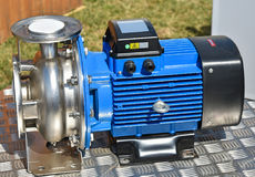 Brand new water pump Royalty Free Stock Image