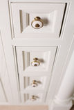 Brand new white cabinet Royalty Free Stock Photo