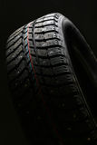 Brand new winter tire. Stock Images