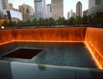 Brand och blod Ground zero Arkivfoto