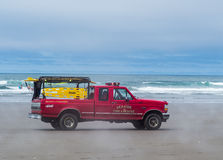 Brand- och räddningsaktionlastbil Royaltyfria Bilder