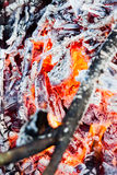 Brand och värme Arkivbilder