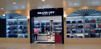 Brand off tokyo shop in hong kong Stock Photos