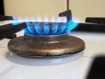 Brand op het Fornuis Royalty-vrije Stock Foto
