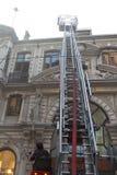 Brand på Cicek Pasaji Royaltyfria Foton