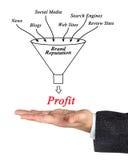 Brand Reputation. Presenting diagram of Brand Reputation Stock Photos