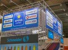 Brand Service booth at REX 2013 trade show Stock Photos