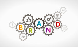 Brand synergy Stock Images