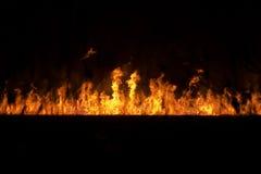 Brand ter plaatse vector illustratie