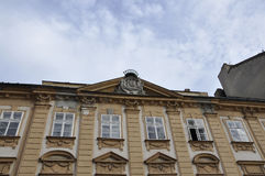 Brand on top of Historic Building from Bratislava in Slovakia Royalty Free Stock Photo