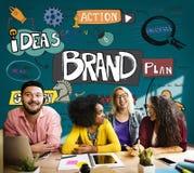 Brand Trademark Advertising Marketing Product Concept.  stock photo