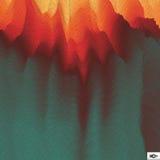 Brand Vectorachtergrond mozaïek Abstracte netwerkillustratie Stock Foto