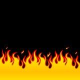 Brand, Vlammen royalty-vrije illustratie