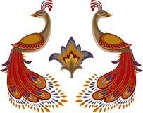 Brand-vogel stock illustratie