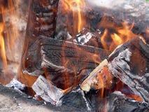 Brand voor de Ziel Stock Fotografie