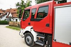 brand vrachtwagen Royalty-vrije Stock Foto's