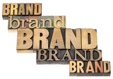 Brand word abstract royalty free stock photos