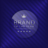 Brand of the year Royalty Free Stock Photos