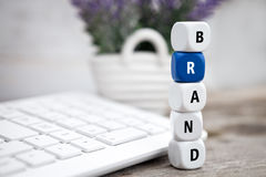 Brand your product Stock Image