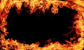 Brandachtergrond Royalty-vrije Stock Foto