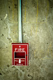Brandalarm Royalty-vrije Stock Afbeeldingen