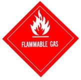 Brandbaar gas Royalty-vrije Stock Foto's