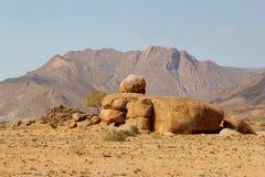 Brandberg, il più alta montagna della Namibia Immagine Stock
