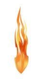 Brandbeståndsdel Stock Illustrationer