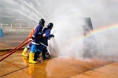 brandbestrijder Stock Fotografie