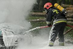brandbestrijder Stock Foto's