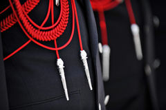 Brandbestrijder Uniform Royalty-vrije Stock Afbeeldingen