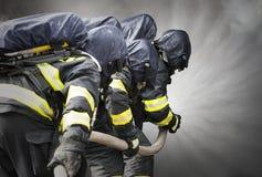 brandbestrijders Royalty-vrije Stock Afbeeldingen