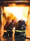 brandbestrijders Royalty-vrije Stock Foto's