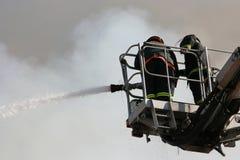 Brandbestrijdings stock fotografie