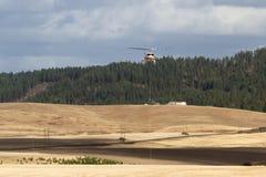 Brandbestrijdingshelikopter royalty-vrije stock afbeelding