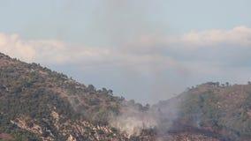 Brandbestrijdingsvliegtuig het Werken stock footage