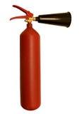 Brandblusapparaat dat op wit wordt geïsoleerda Royalty-vrije Stock Afbeeldingen