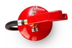 Brandblusapparaat met het knippen van weg Stock Fotografie
