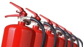 Brandblusapparaten Royalty-vrije Stock Afbeeldingen