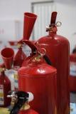 Brandblusapparaten. Stock Afbeeldingen