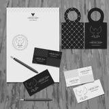 Brandbook da empresa Imagens de Stock Royalty Free