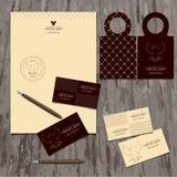 Brandbook firma Zdjęcie Royalty Free