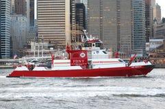 Brandboot Royalty-vrije Stock Afbeeldingen