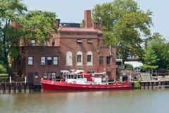 Brandboot Royalty-vrije Stock Fotografie