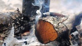 Brandbrännskador Royaltyfri Foto