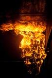 Brandbrandwond Stock Afbeeldingen