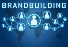 Brandbuilding Photographie stock libre de droits
