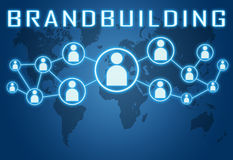 Brandbuilding Royalty Free Stock Photography